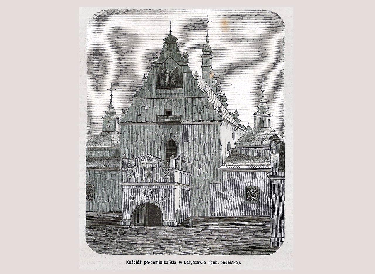 Ilustracja z Tygodnika Ilustrowanego, 1872 r.