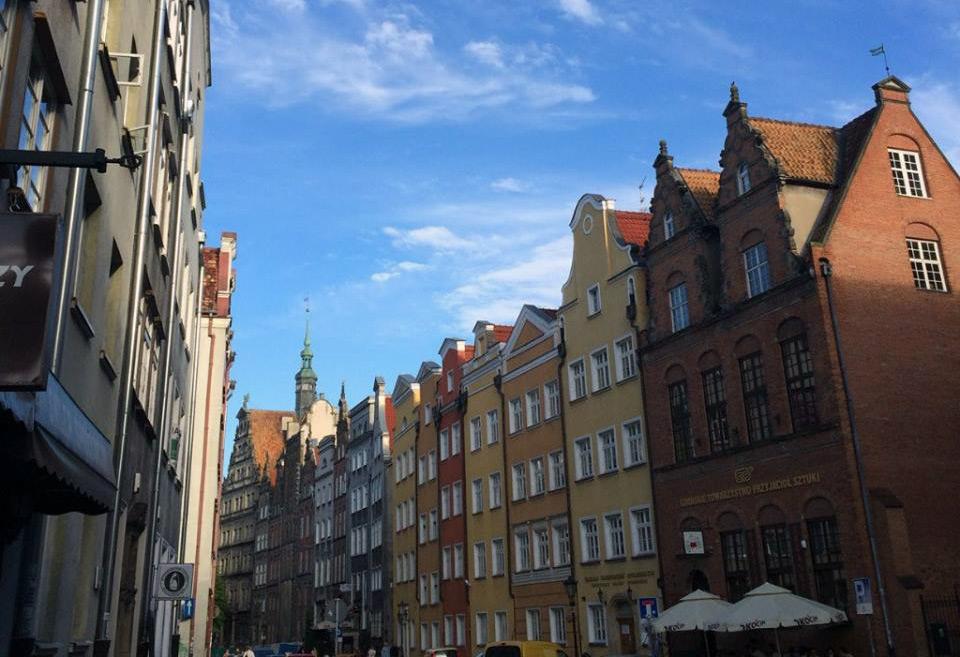 Gdańsk na zdjęciu Mikołaja Bachura