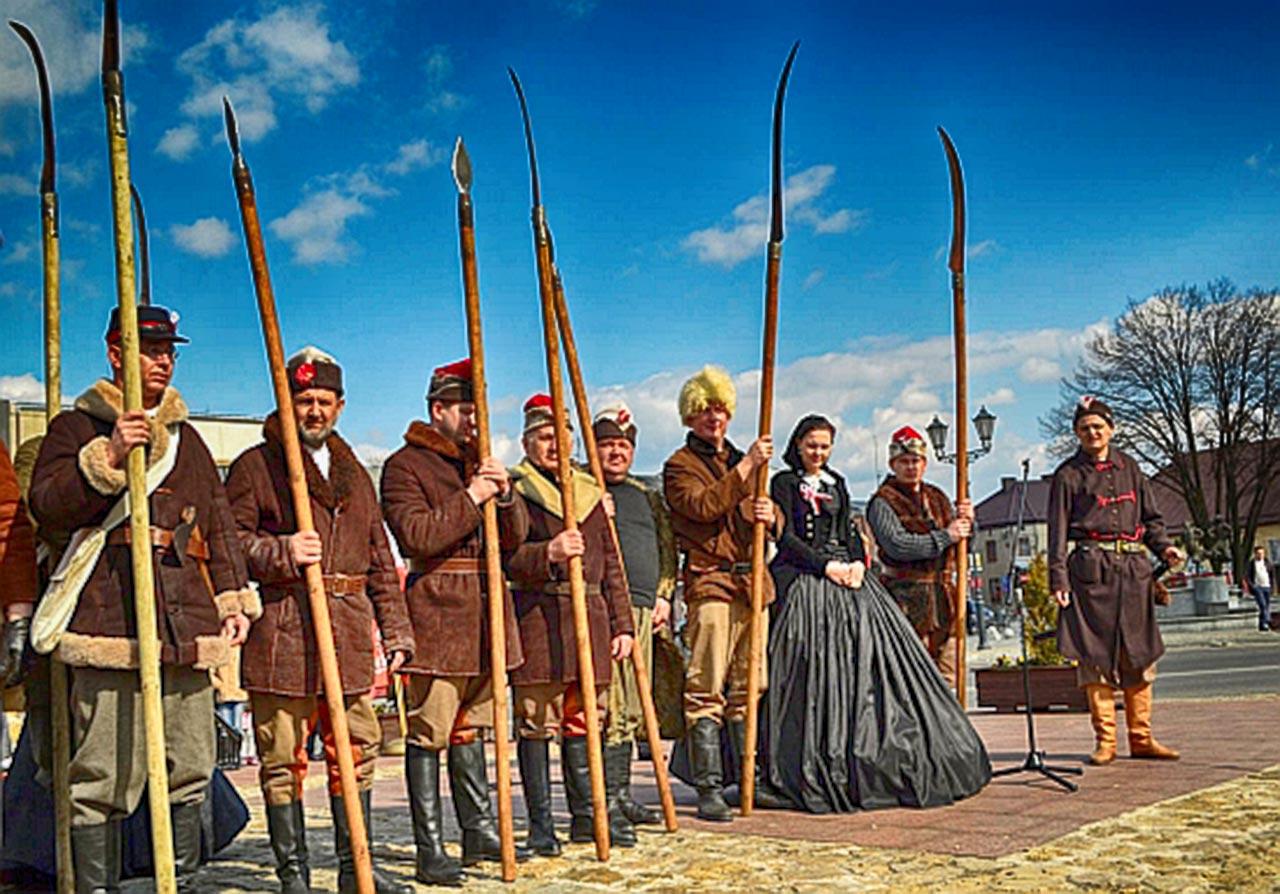 Kosynierzy w Będzinie. Rekonstrukcja historyczna