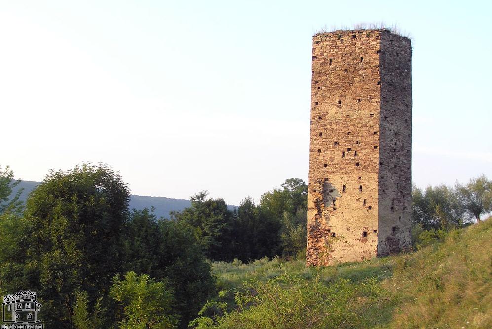 Fragment zamku w Rakowcu w obwodzie iwano-frankowskim. Źródło: ua.vlasenko.net