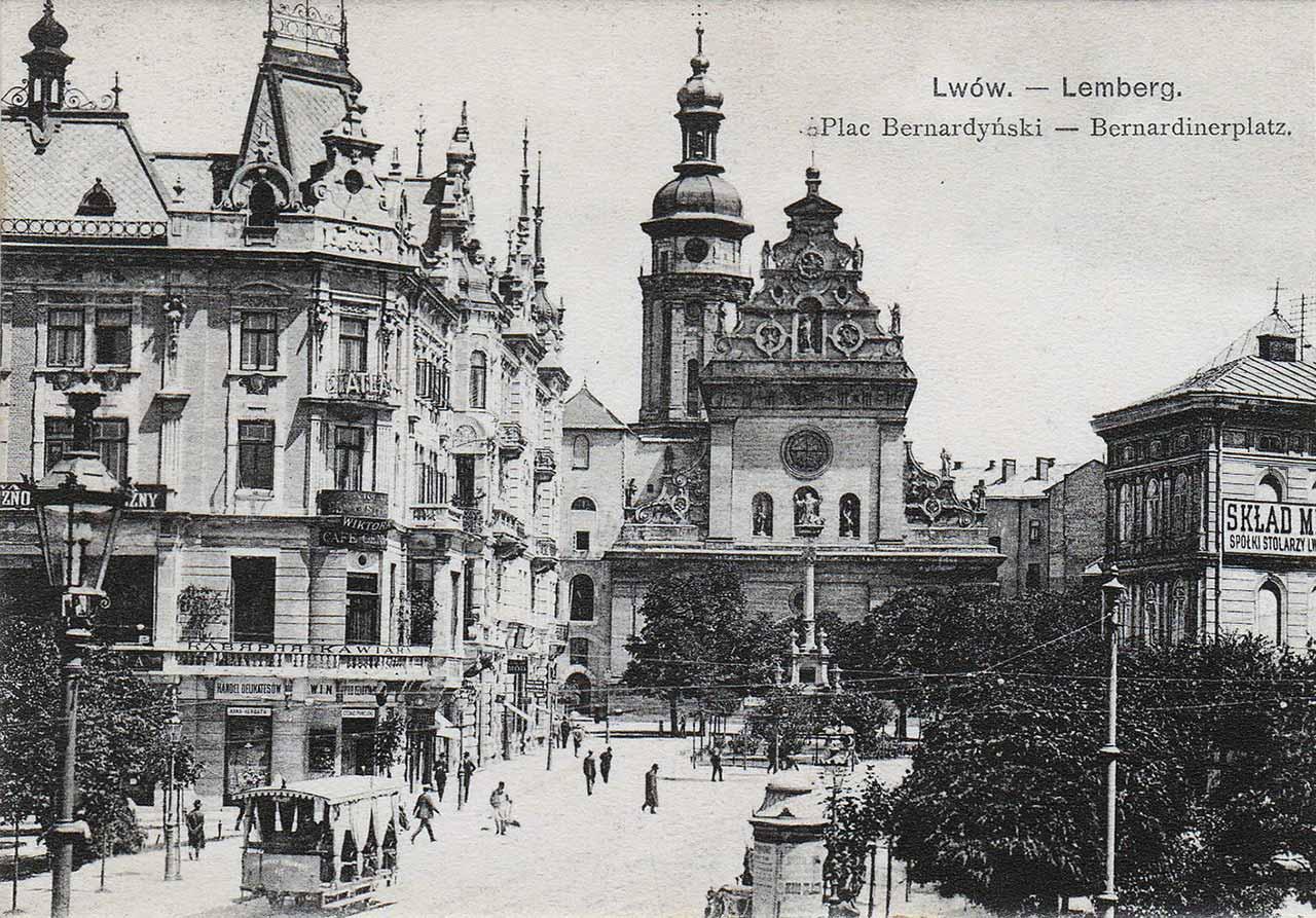 Kościół św. Andrzeja i klasztor Bernardynów. Źródło: http://lwowskie.fotopolska.eu