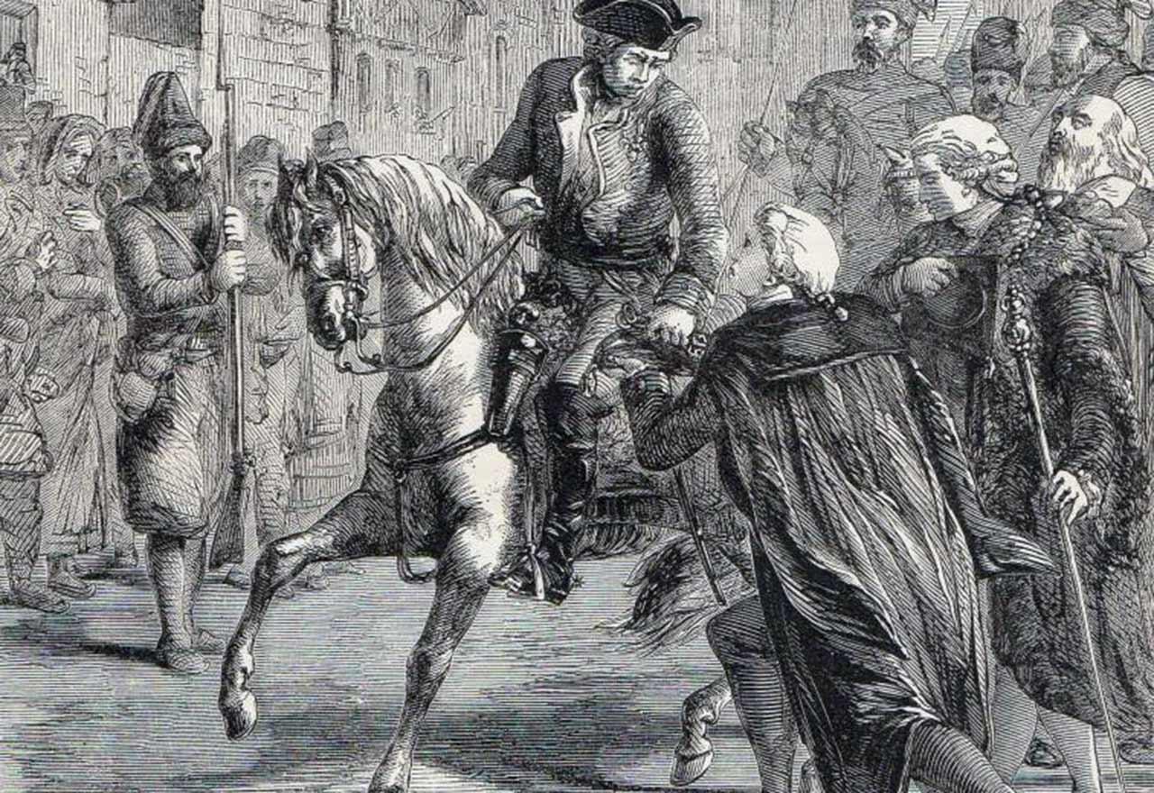 Kapitulacja Warszawy w 1794 roku
