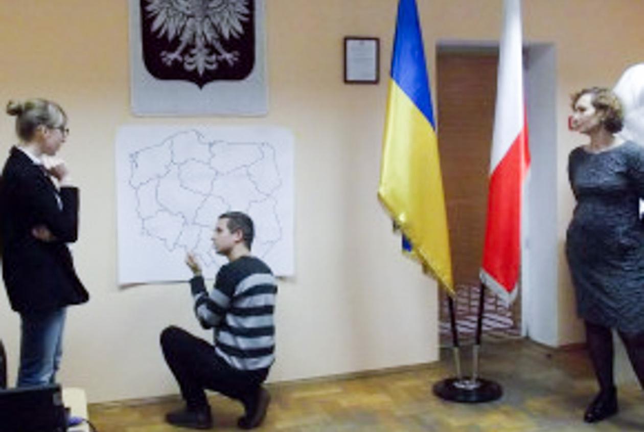 Warsztaty z udziałem Magdaleny Zylik w żytomierskim Domu Polskim