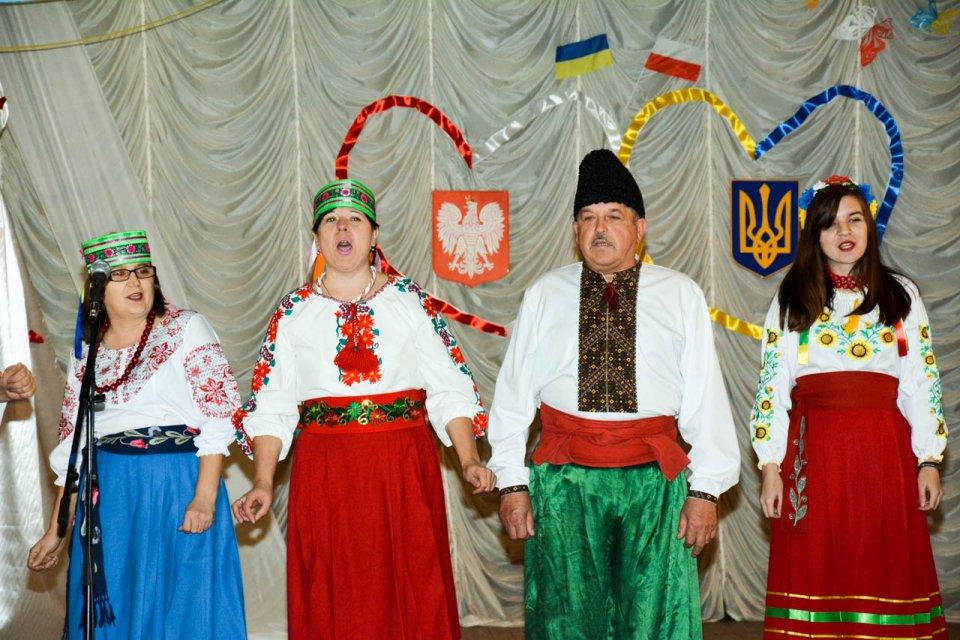 Zdjęcie z festiwalu kultury polskiej w Szepietówce.