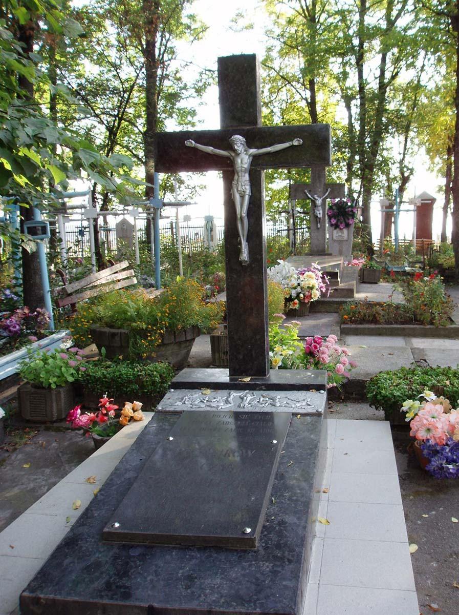 Obecny wygląd pomnika ofiar stalinizmu w d. Płoskirowie