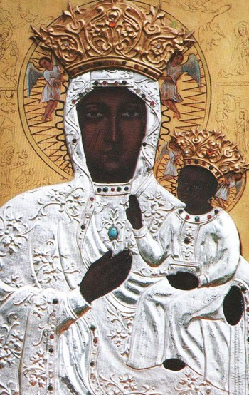 Kopia obrazu Matki Bożej Latyczowskiej w Czeczelniku