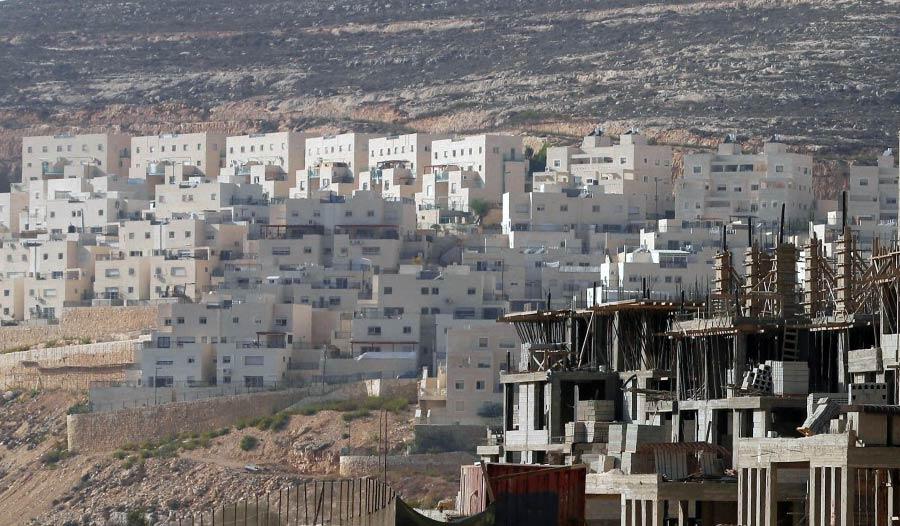 Izraelskie osiedla na terenie Palestyny. Źródło: TSN.UA