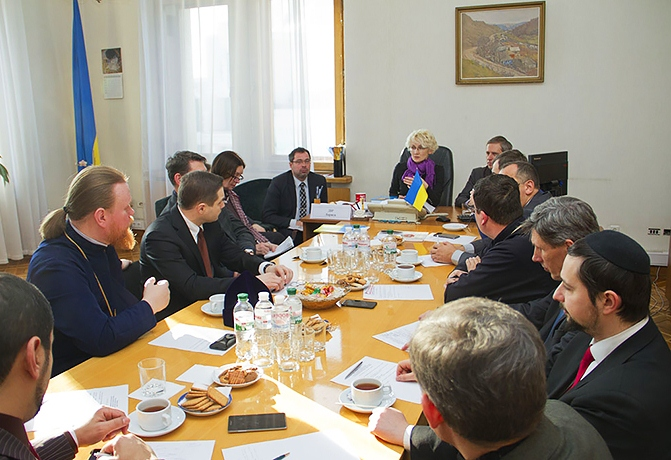 Posiedzenie rady w budynku MSZ