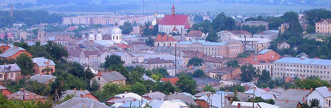 Panorama Brzeżan. Źródło: ww.castles.com.ua
