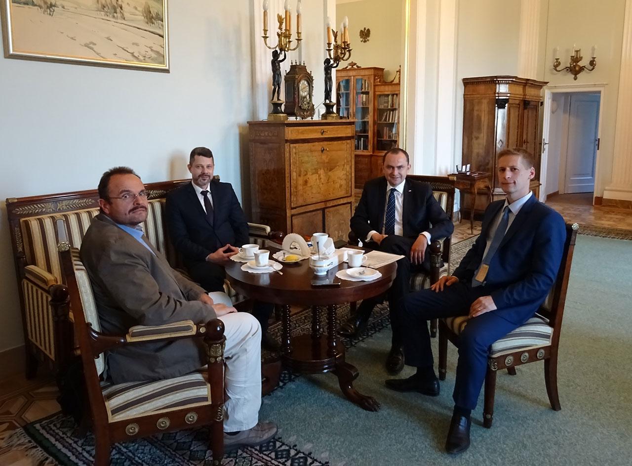 Rafał Dzięciołowski, Włodzimierz Iszczuk, Adam Kwiatkowski, Jerzy Wójcicki