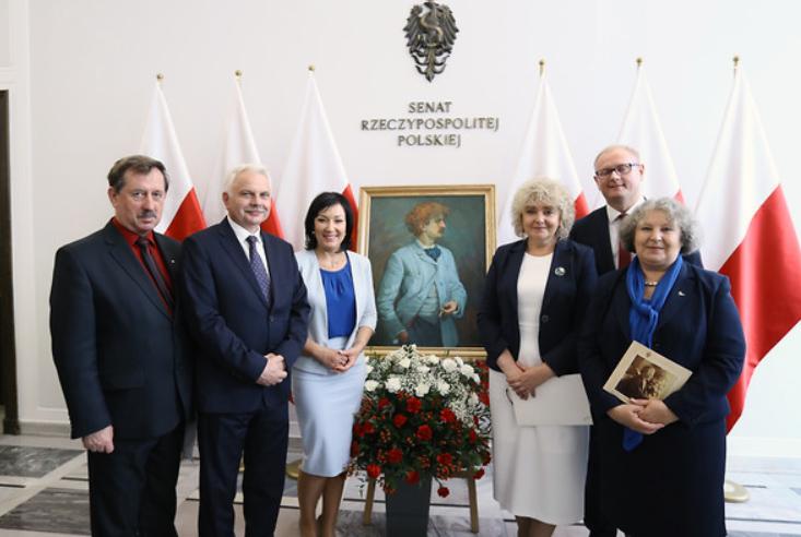 Wystawa o Paderewskim w Senacia. Zdjęcia: Katarzyna Czerwińska