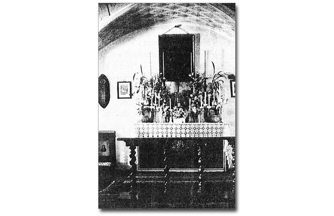 Kaplica w Piętniczanach. Źródło: Wspominki Nikłe