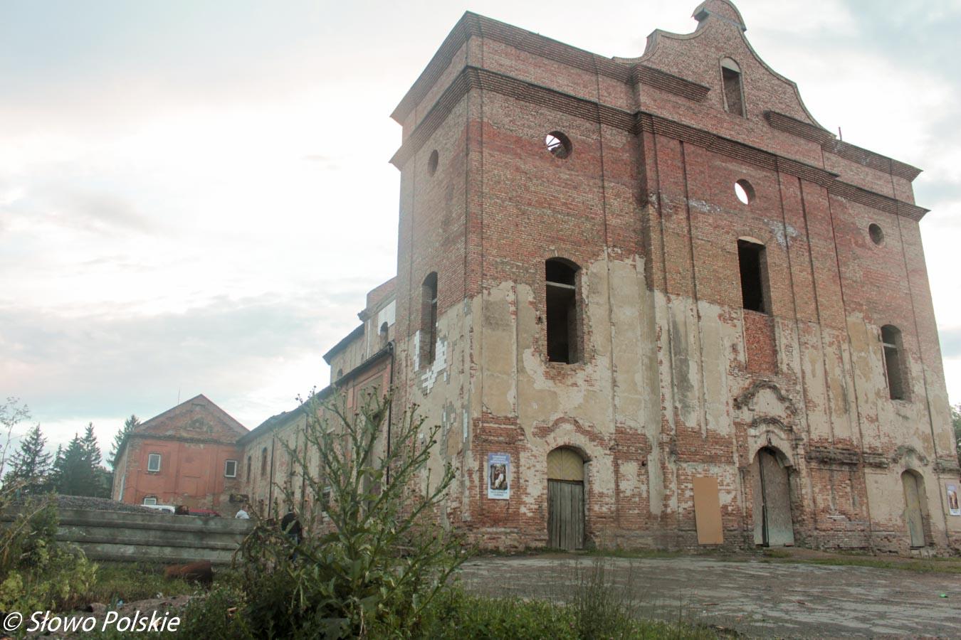 Były klasztor dominikanów w Tywrowie