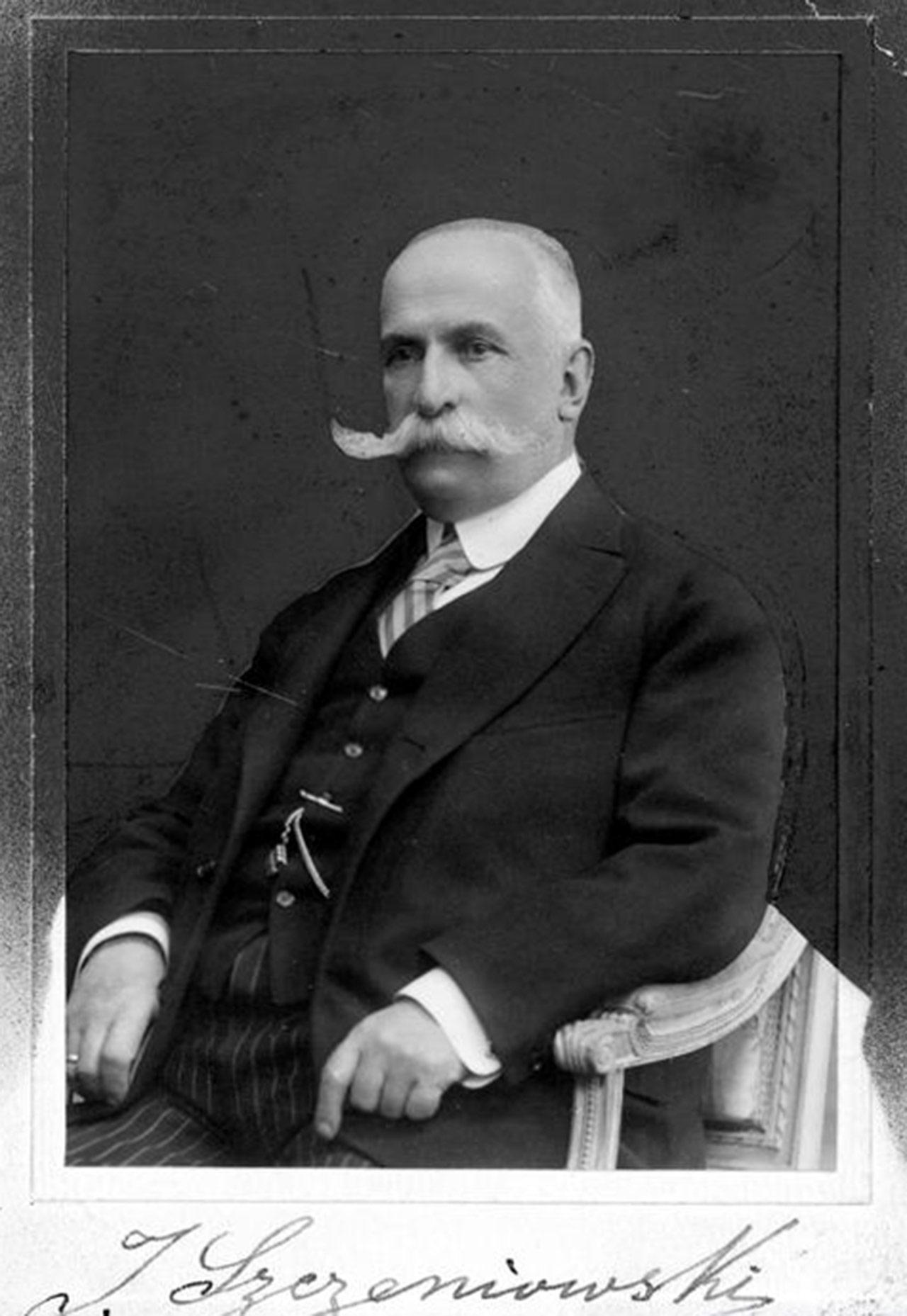 Ignacy Szczeniowski z Kapuścian - minister przemysłu i handlu w rządzie Paderewskiego