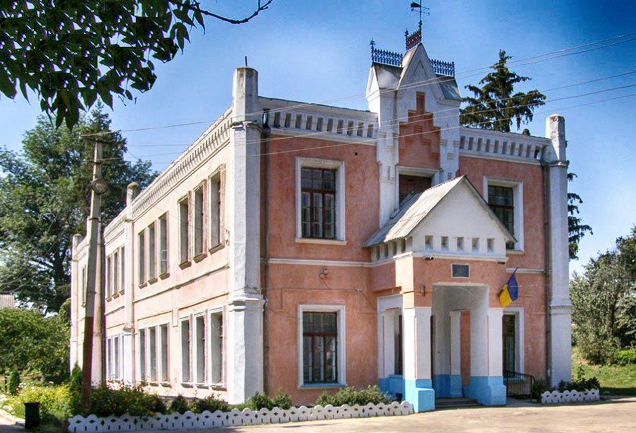 Pałac Szczeniowskich w Kapuścianach. Źródło: castles.com.ua