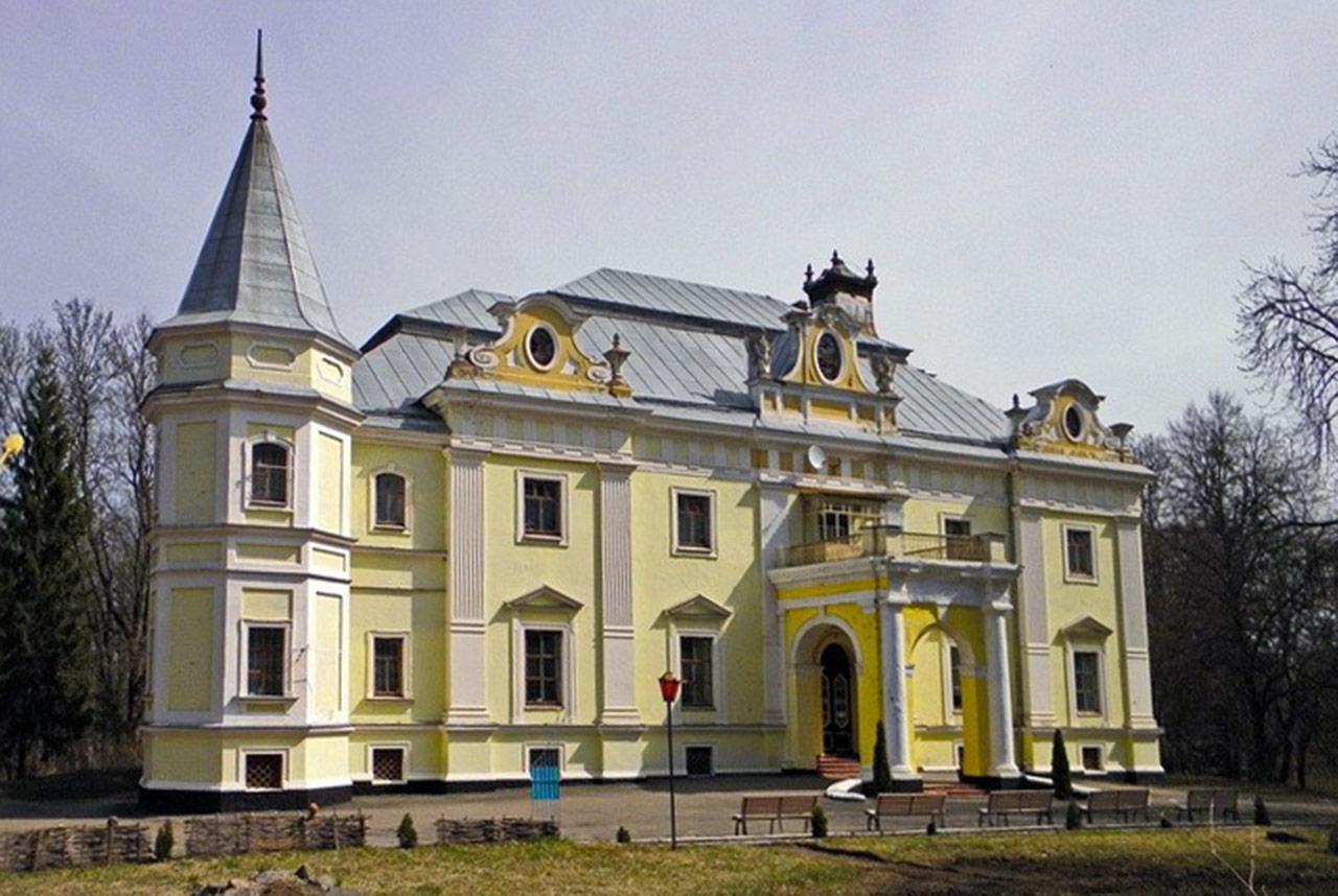 Pałac Witolda i Henryka Sobańskich w Wierzchówce. Źródło: andy-travel.com.ua