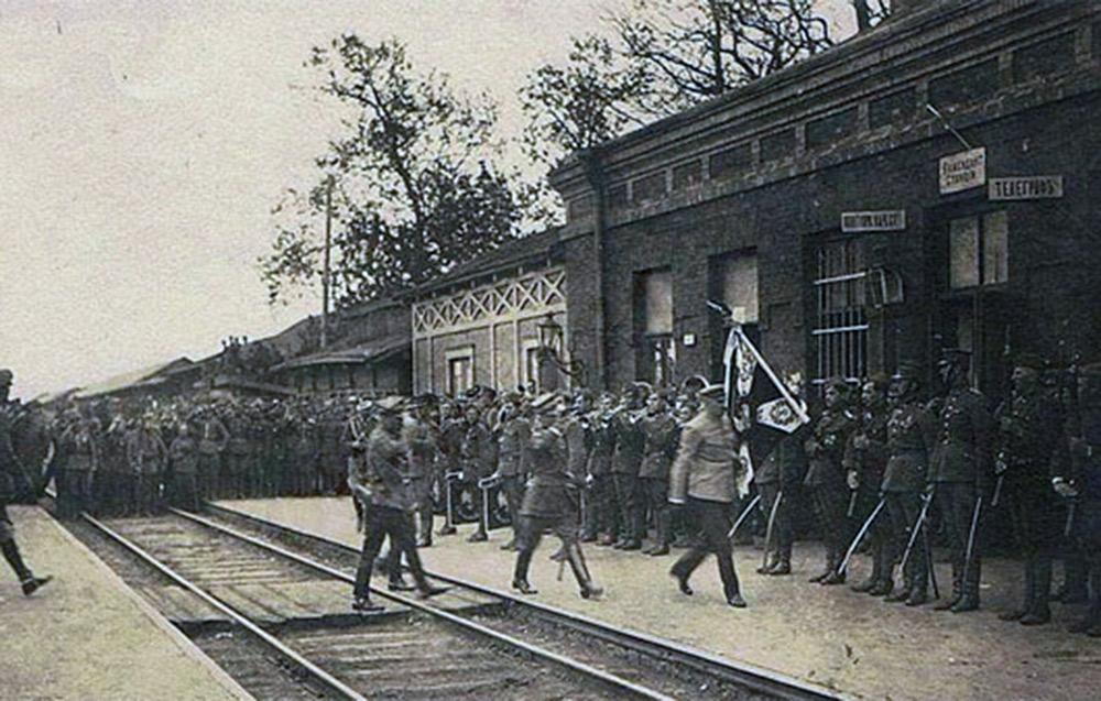 Piłsudski w Berdyczowie. Źródło: mozberd.com.ua