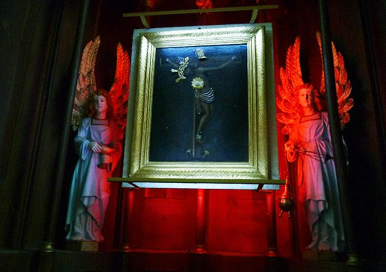 Wizerunek Pana Jezusa Milatyńskiego w kościele w Kamionce. Zdjęcie: M. Pabis