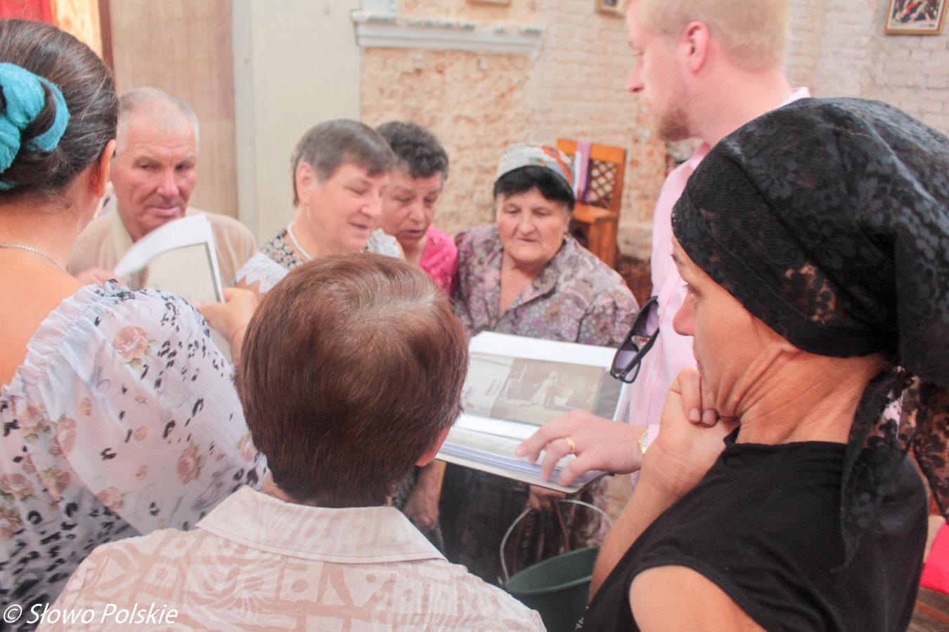 Parafianie kościoła w Strzyżawce poznają Henryka i Stefana Grocholskich