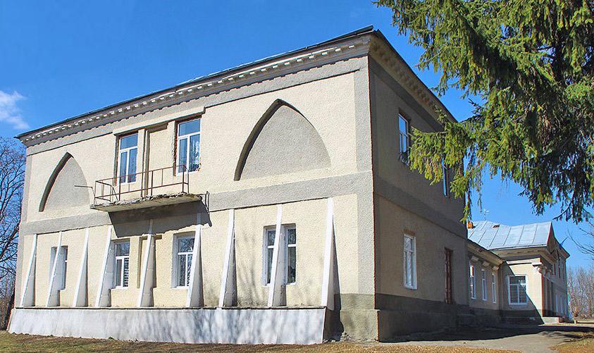 Pałac Zaleskich w Wodziczkach. Źródło: castles.com.ua