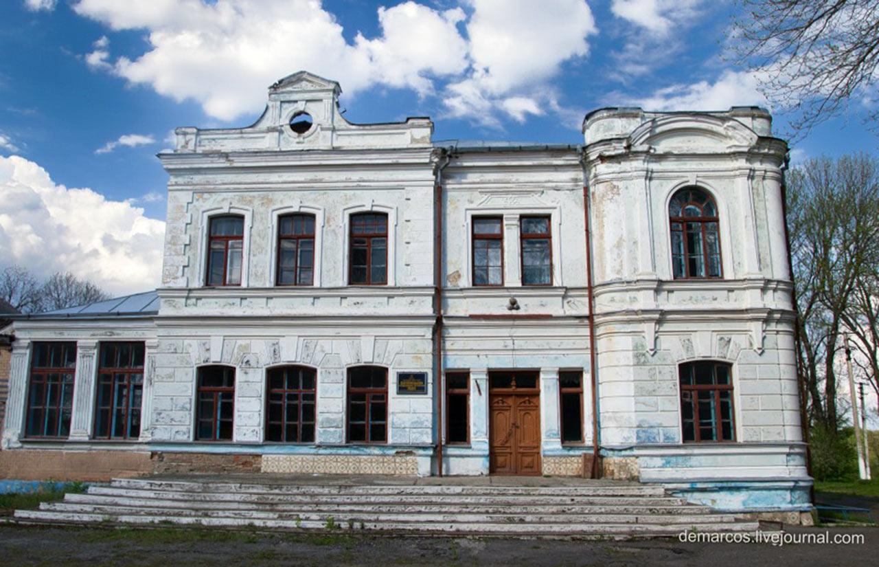 Pałac Zaleskich w Dzieleńcach.