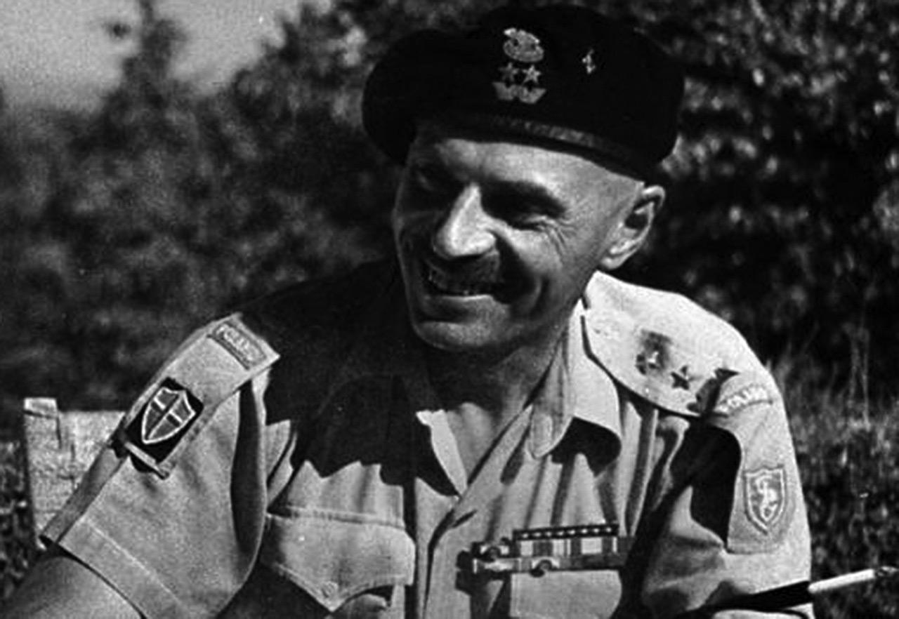 Gen. Władysław Anders. Zdjęcie z drugiej połowy lat 40.