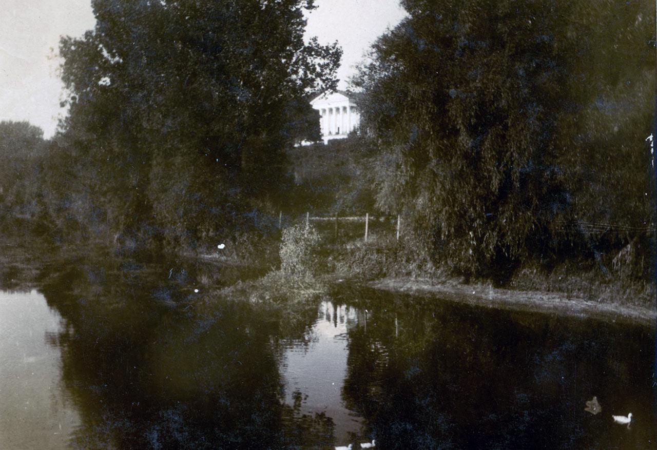 Pałac Grocholskich w Strzyżawce na Podolu. Dom rodzinny Tadeusza Grocholskiego