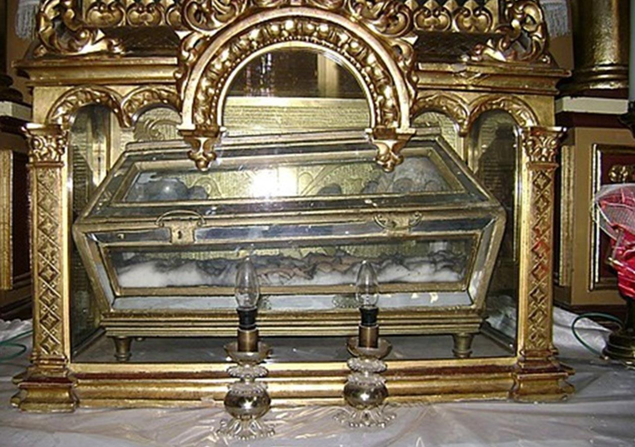 Relikwie św. Walentego w Żytomierzu