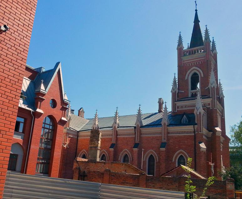 Kościół w Charkowie. Wygląd obecny. Źródło: horoshiyblog.livejournal.com
