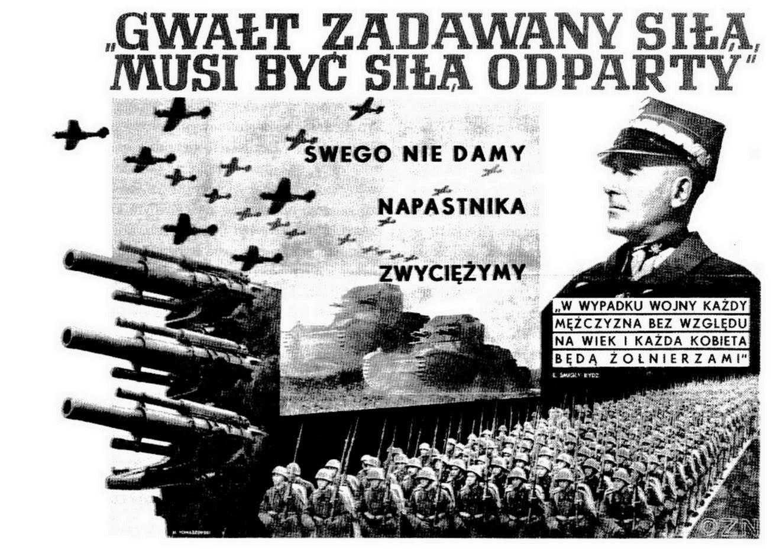Polski plakat z 1939 r.