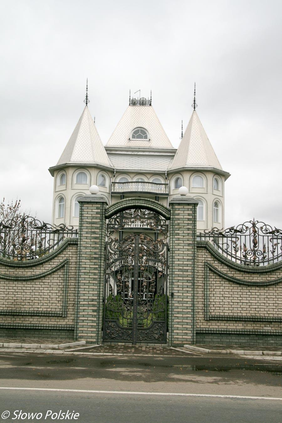 Jeden z mamajowieckich pałaców
