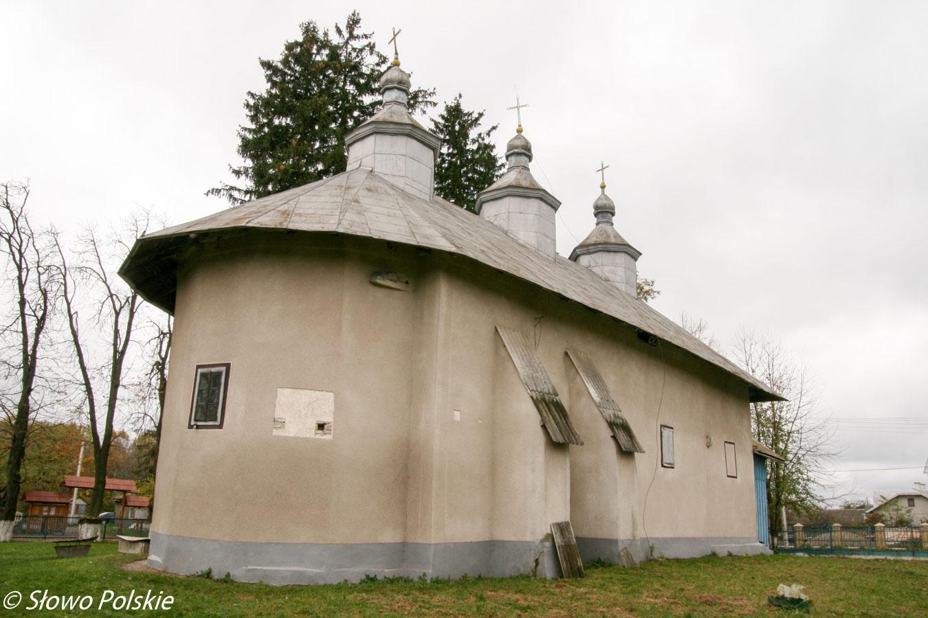 Wygląd zewnętrzny łużańskiej cerkwi