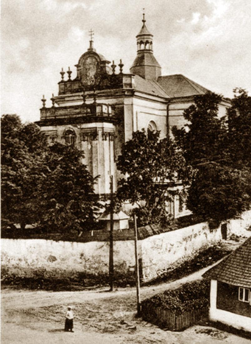 Buczacz - Kościół Matki Bożej Szkaplerznej. Źródło - NAC
