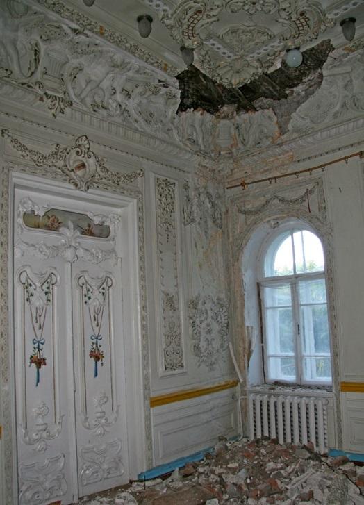 Walący się pałac Kogana w Wyszczeołczadajowie. Źródło - http://i-vin.info