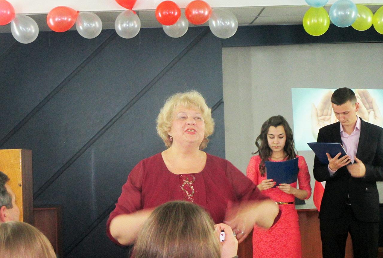 Prezes Stowarzyszenia Studentów Medyków im. Macieja Płażyńskiego Antonina Dnistriańska