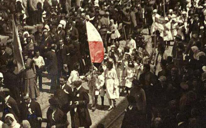 Pierwszy po upadku caratu polski wiec niepodległościowy w Winnicy. 3 maja 1917 r.