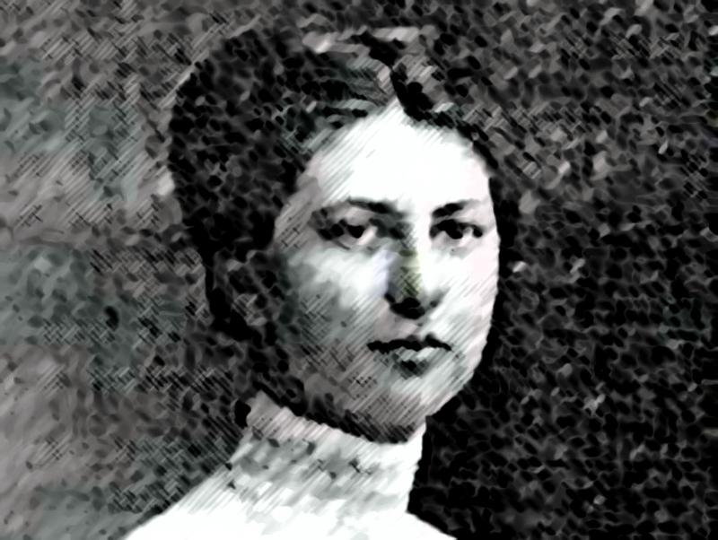 Jedyne zdjęcie Pani Marii Mańkowskiej, które się zachowało