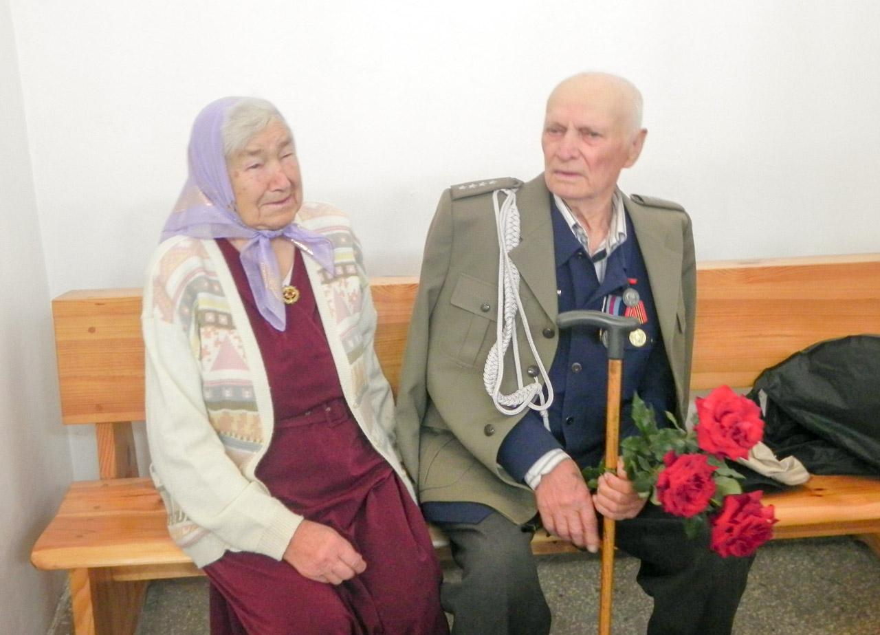 Franciszek Jakowczyk z żoną
