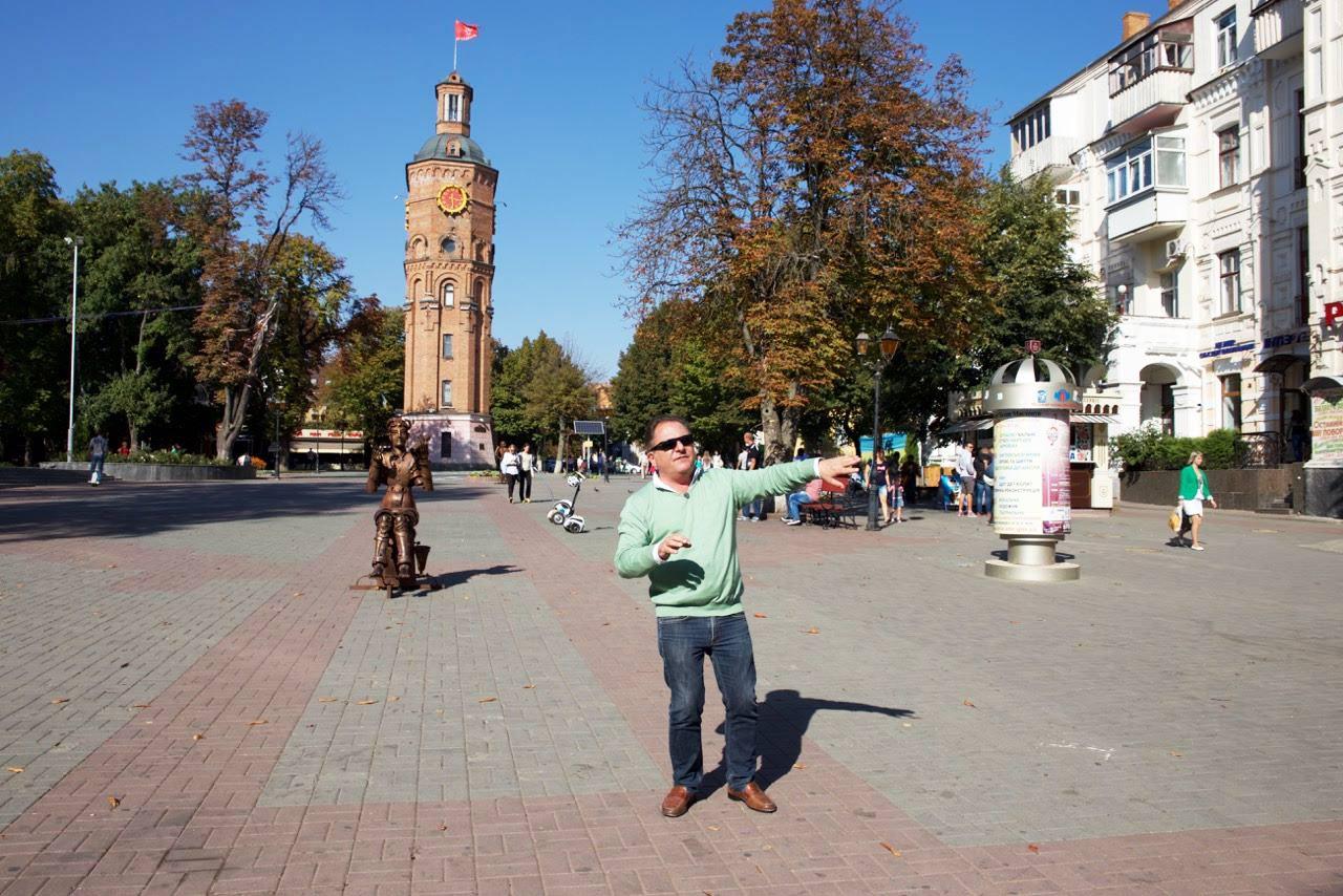 Makłowicz na Placu Europejskim