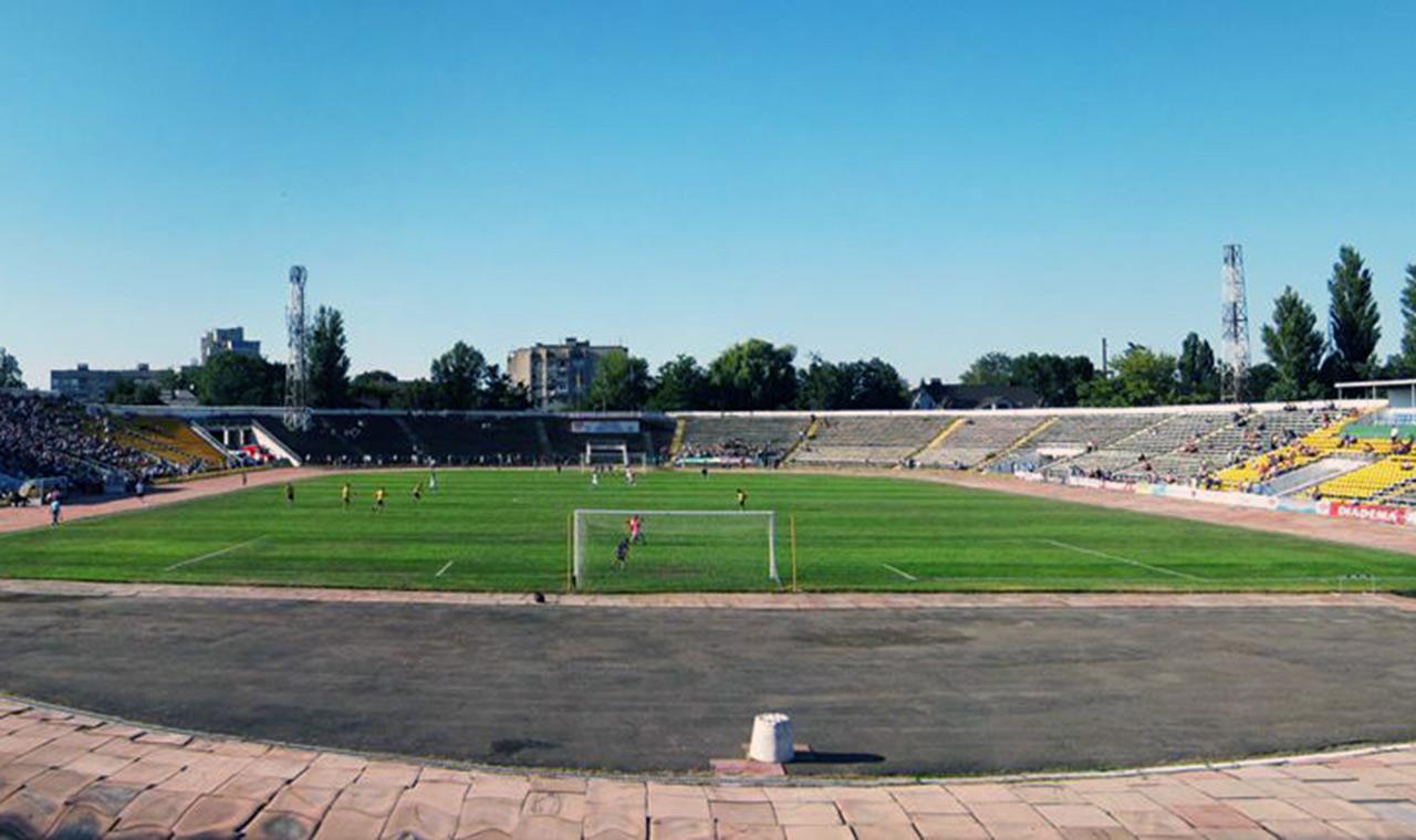 Stadion w Winnicy. Źródło: depo.ua
