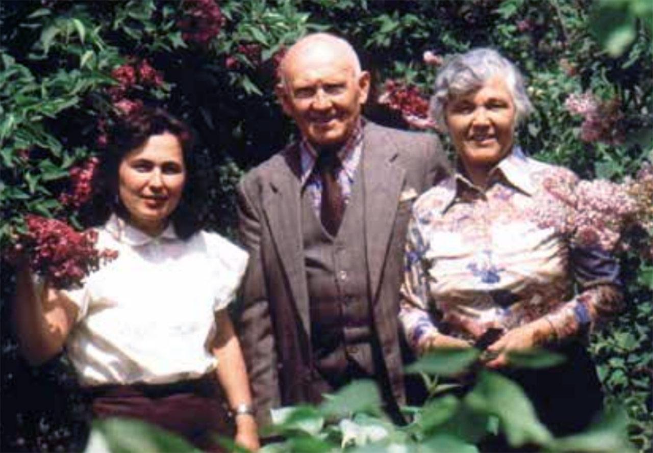 Tadeusz Drzewicki z małżonką (po lewej)