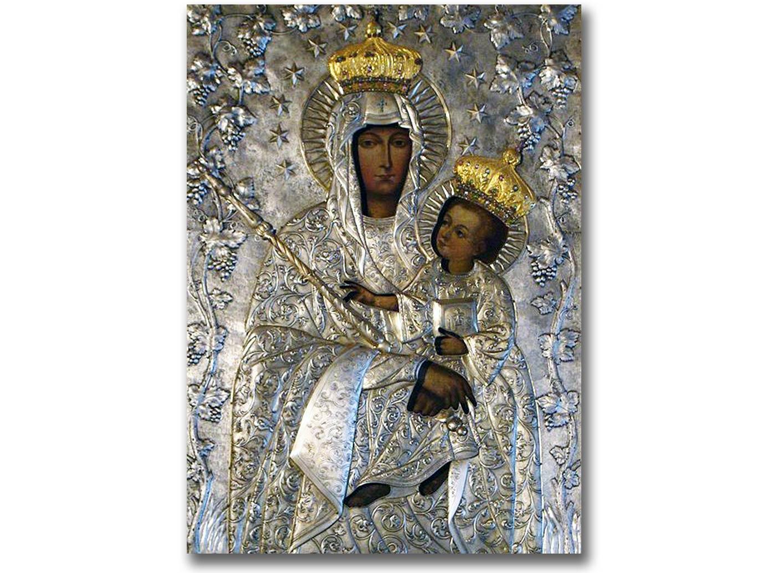 Cudowny obraz Matki Bożej Latyczowskiej, który obecnie znajduje się w Lublinie
