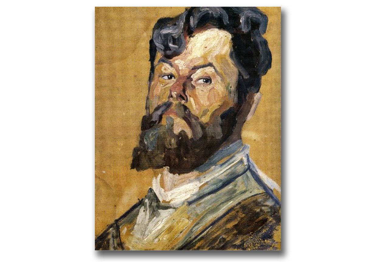 Autoportret Ołeksy Nowakiwskiego
