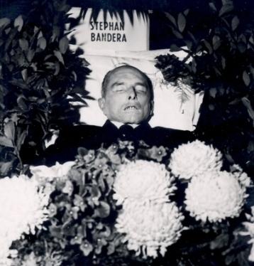 Pogrzeb Bandery w 1959 r.