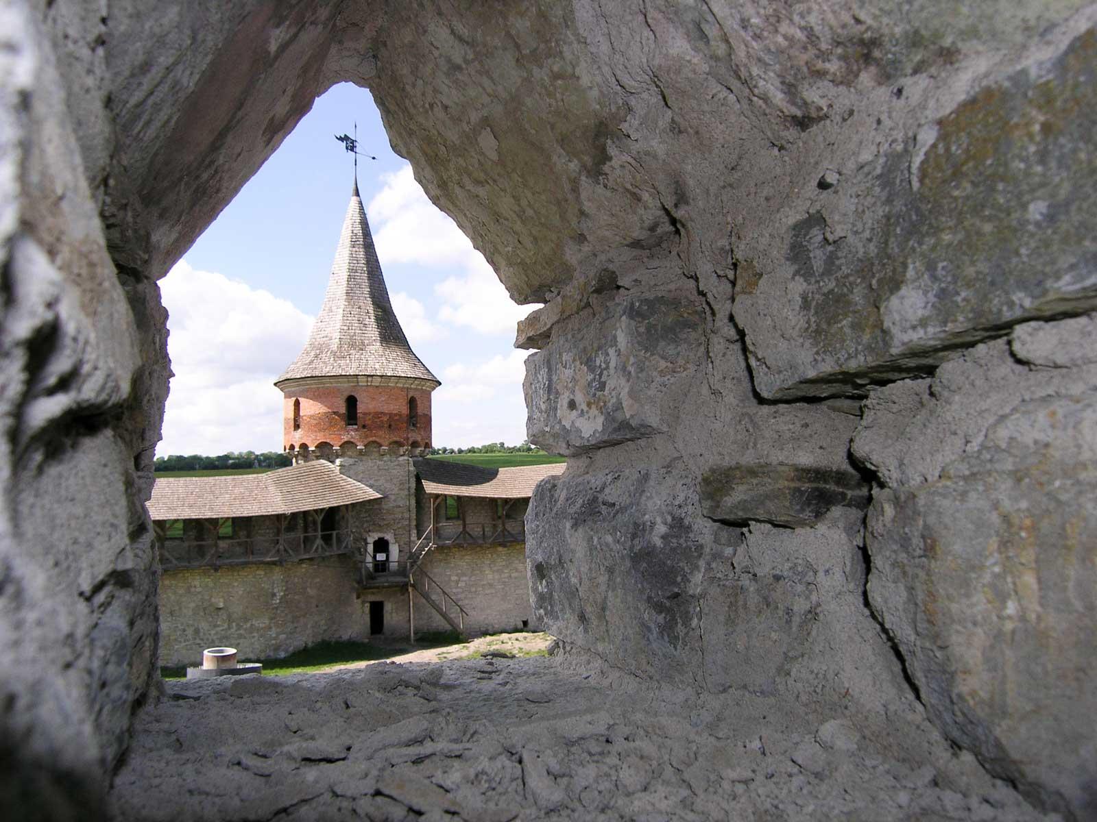 Fragment fortecy w Kamieńcu Podolskim