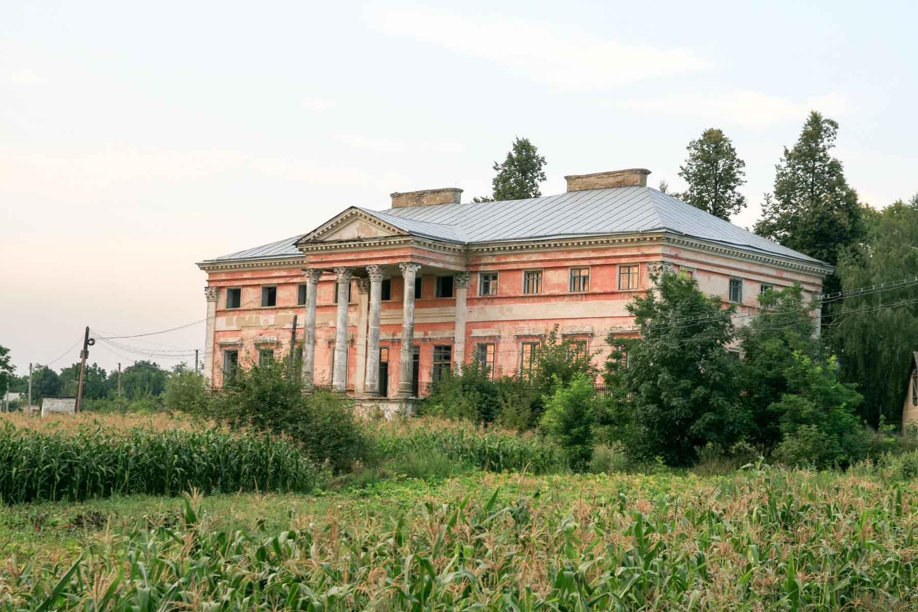 Pałac Czackich w Srebrzyńcach