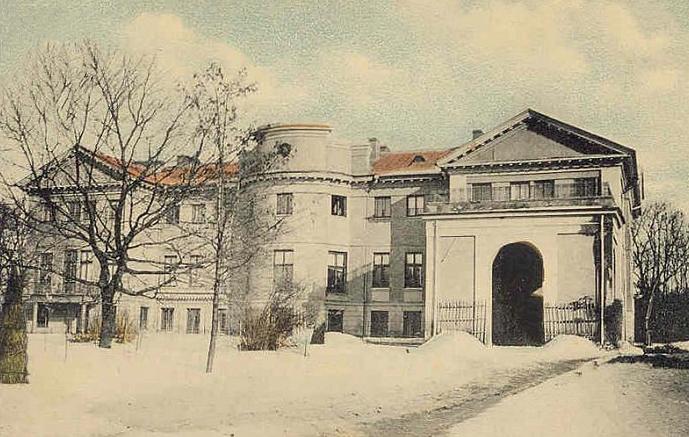 Mało znane zdjęcie sanguszkowskiego pałacu