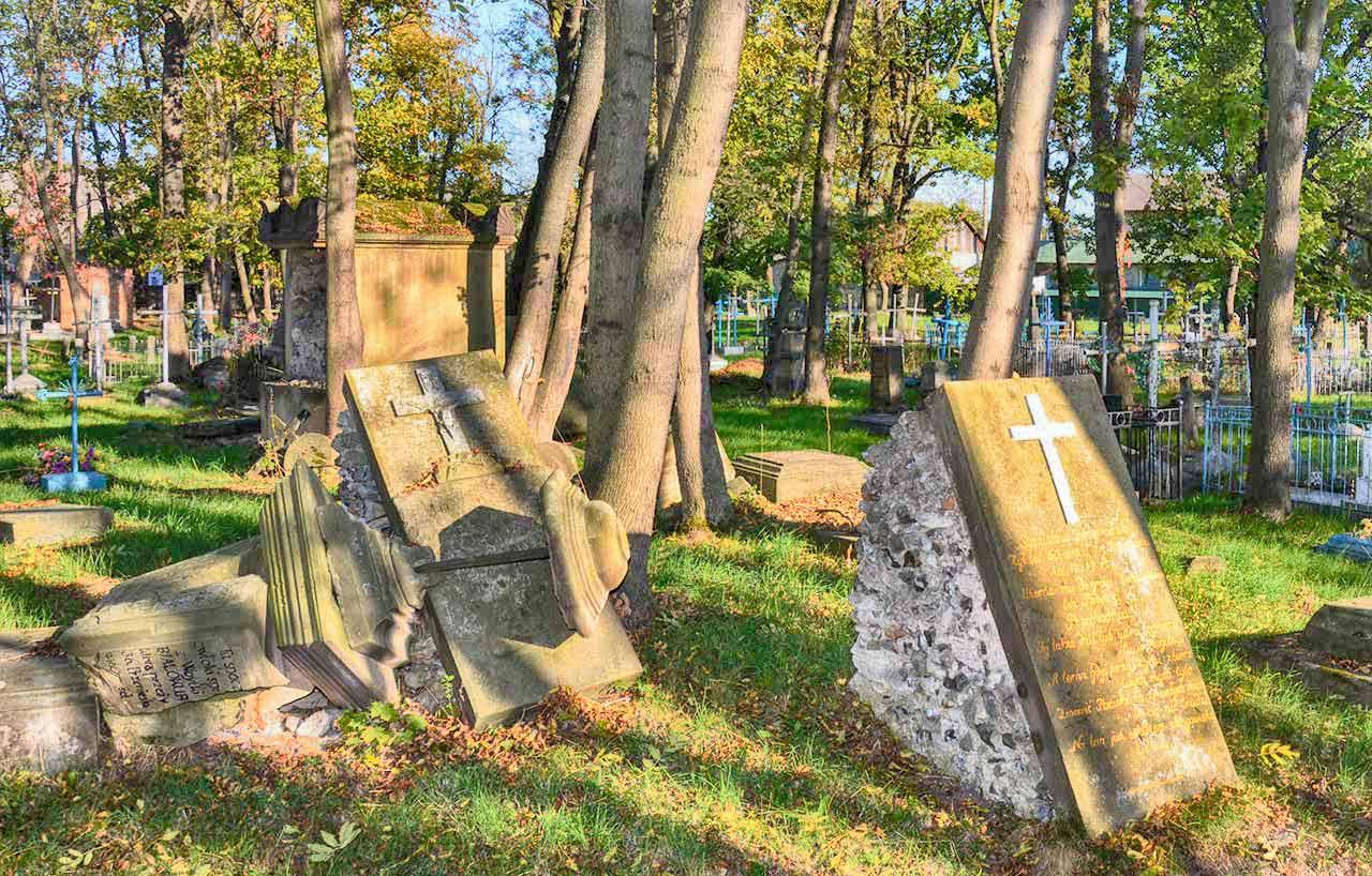 Cmentarz w Sławucie. Autor zdjęcia: Igor Panasenko