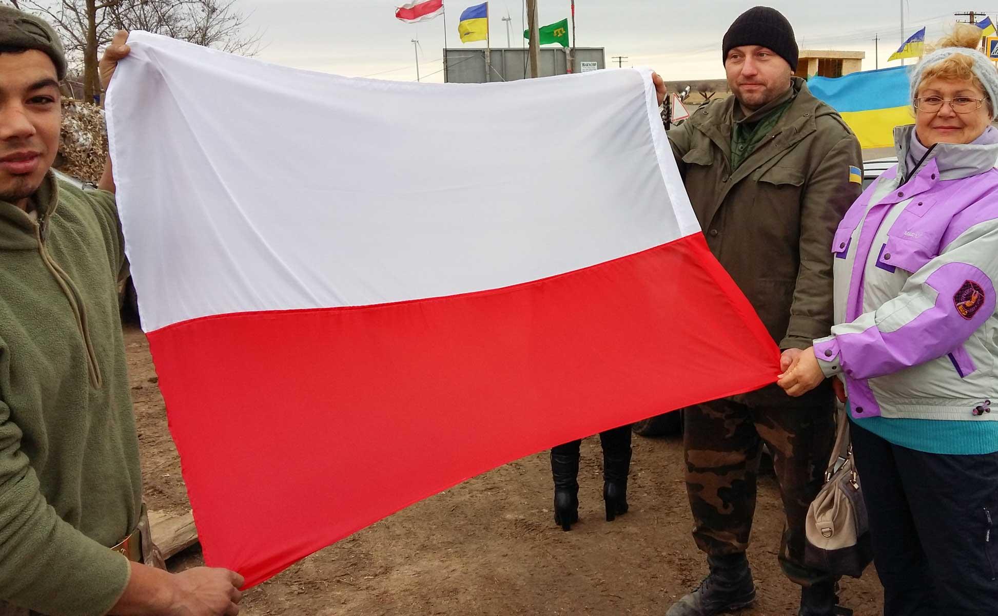 10Przekazanie flagi polskiej od Polaków Kijowa