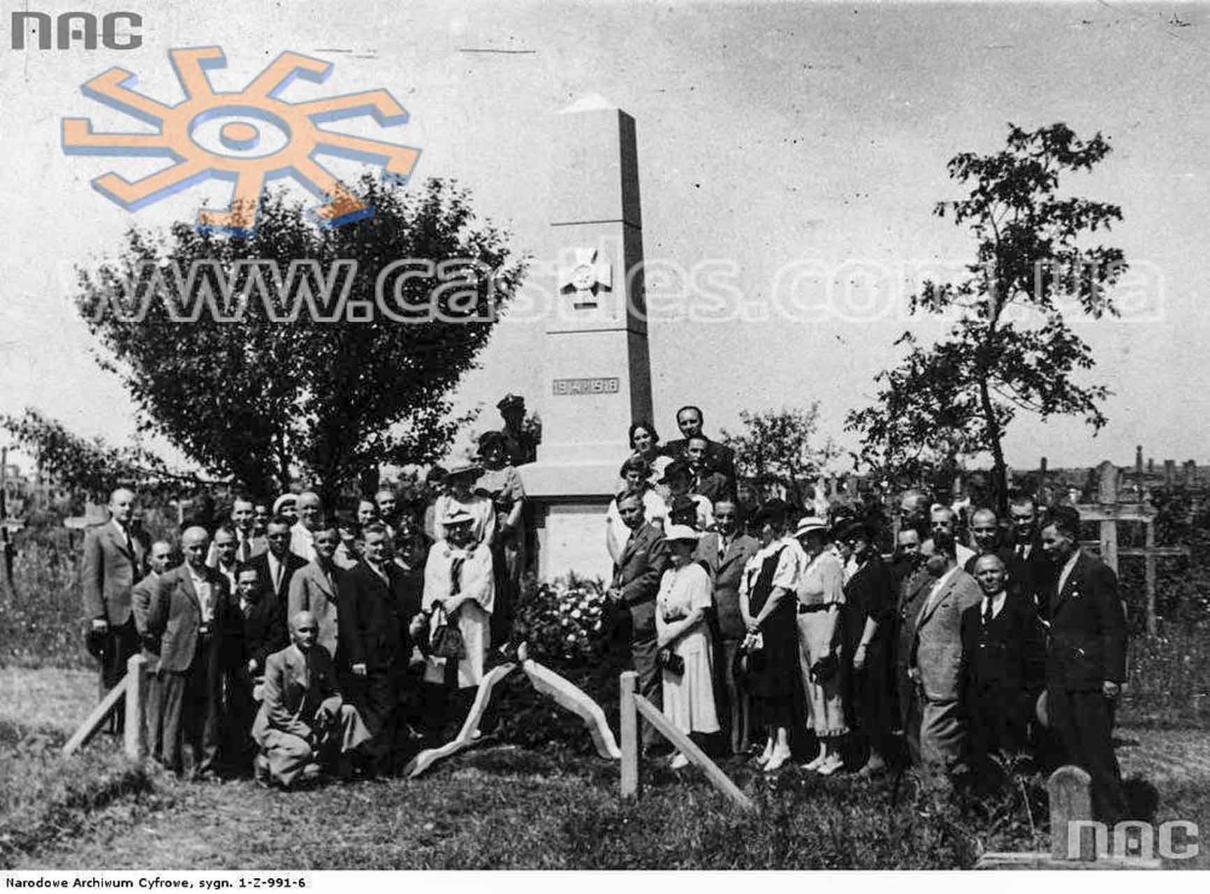 Polska delegacja w Rarańczy w czasach II RP